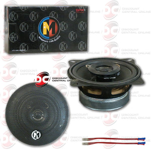 "Memphis 15-SRX42  4"" Car Audio Speakers (Street Reference Series)"