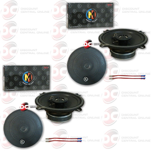 "4 x Memphis 15-SRX52 5-1/4"" Car Audio Speakers (Street Reference Series)"