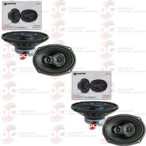 "4 x Memphis 15-SRX693 6""x9"" Car Audio Speakers"