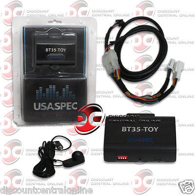 ADAPTER FOR 1998 - UP SELECT TOYOTA, LEXUS & SCION BLUETOOTH INTERFACE STREAM MUSIC BT35-TOY