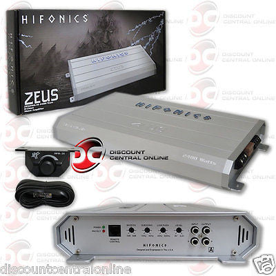 2015 BRAND NEW HIFONICS 1-CHANNEL CLASS D CAR AUDIO AMP AMPLIFIER 2400W PEAK