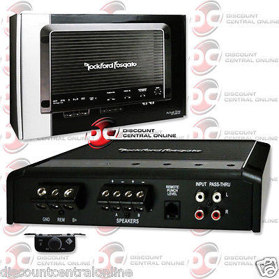 BRAND NEW ROCKFORD FOSGATE CAR AUDIO CLASS D MONOBLOCK AMP AMPLIFIER