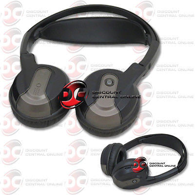 ROSEN AC3640 DUAL CHANNEL WIRELESS FOLDABLE INFRARED HEADPHONES