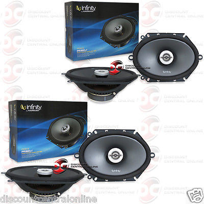 "2 x INFINITY PR8602cf PRIMUS 5"" x 7"" OR  6"" x 8"" CAR AUDIO 2-WAY SPEAKERS"