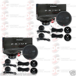 "ROCKFORD FOSGATE R1675-S 6.75"" 2-WAY CAR COMPONENT SPEAKERS (2 PAIRS)"