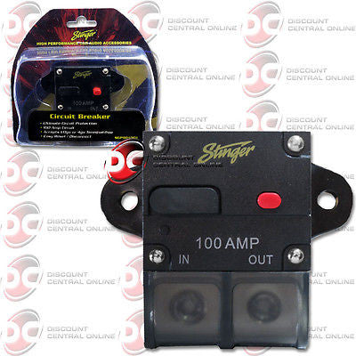 STINGER SGP901001 100 AMP CIRCUT BREAKER WITH MANUAL RESET
