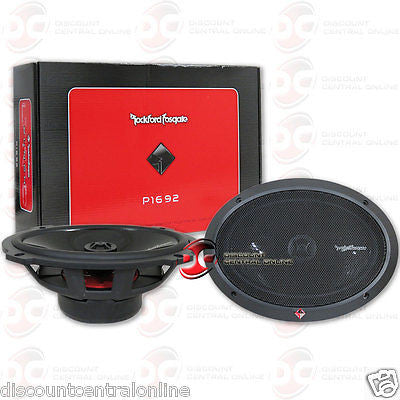 "Rockford Fosgate P1692 6x9"" 2-way Car Audio Coaxial Speakers"