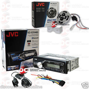 Marine Stereo With Wired Remote | Jvc Kd X31mbs Car Boat Marine Digital Media Bluetooth Stereo W