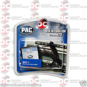 PAC SNI-1 CAR AUDIO GROUND LOOP NOISE ELIMINATOR