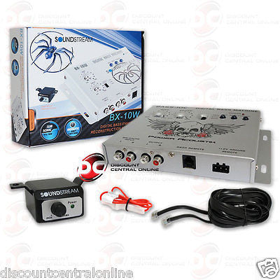 BRAND NEW SOUNDSTREAM CAR STEREO EPICENTER DIGITAL BASS PROCESSOR (WHITE)