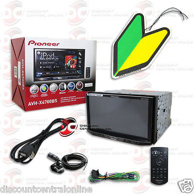 "PIONEER AVH-X4700BS 7"" TOUCHSCREEN CAR CD DVD BLUETOOTH STEREO ""FREE"" AIRFRESHER"