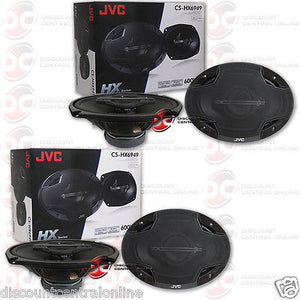 "JVC CS-HX6949 6X9"" 4-WAY CAR COAXIAL SPEAKERS (2 PAIRS)"