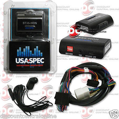 2003 - UP SELECT HONDA BLUETOOTH INTERFACE AND STREAM MUSIC BT35-HON