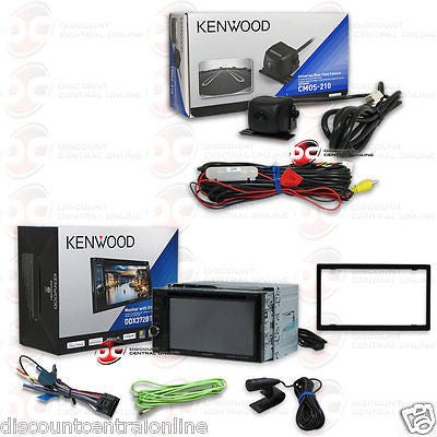 "KENWOOD DDX372BT 6.2"" TOUCHSCREEN CAR DVD BLUETOOTH STEREO FREE CMOS-210 CAMERA"