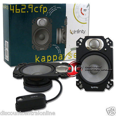 "INFINITY KAPPA 462.9cfp 4""x 6"" CAR AUDIO PLATE SPEAKERS"