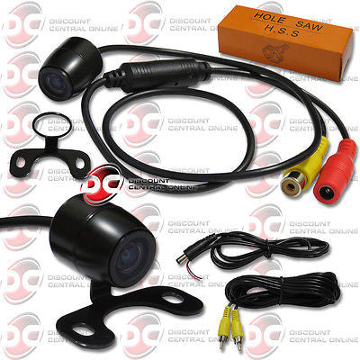 UNIVERSAL 170° WIDE ANGLE VIEW COLOR REAR VIEW CAMERA WITH NIGHT VISION