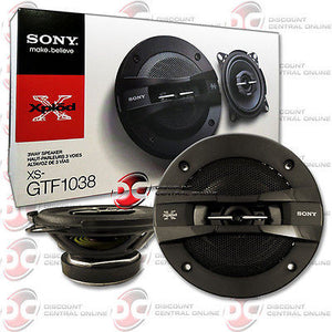 "SONY XPLOD SERIES XS-GTF1038 4"" 3-WAY CAR AUDIO SPEAKERS (PAIR)"