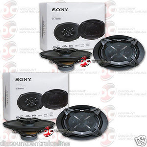 "4 x SONY XS-FB6930 6"" x 9"" 3-WAY CAR AUDIO COAXIAL SPEAKERS"