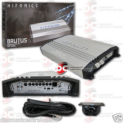 2015 BRAND NEW HIFONICS BRX2016.1D 1-CHANNEL CAR AUDIO AMP AMPLIFIER 2000W RMS
