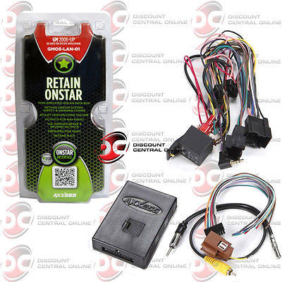 AXXESS GMOS-LAN-01 NON-AMPLIFIED HARNESS FOR SELECT 2006-2008 GM VEHICLES