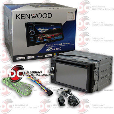 "2014 KENWOOD 2DIN 6.1"" TOUCHSCREEN DVD CD PLAYER BLUETOOTH USB & PANDORA CONTROL"