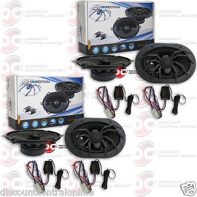 "2 x SOUNDSTREAM SST5.7 5"" x 7"" OR 6"" x 8"" 2-WAY CAR AUDIO SPEAKERS (PAIR)"