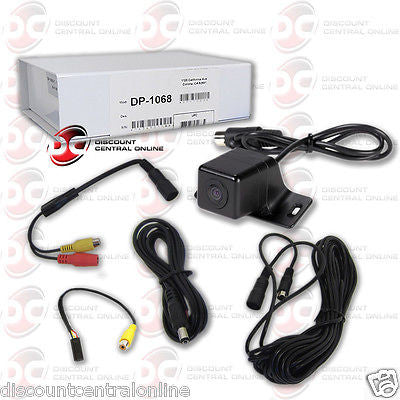 UNIVERSAL HIGH QUALITY REARVIEW CAMERA FOR MULTIMEDIA NAVIGATION STEREOS UNITS