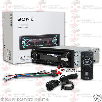 2015 SONY SINGLE DIN CAR WMA MP3 CD PLAYER USB AUX-IN BLUETOOTH NFC PANDORA APP