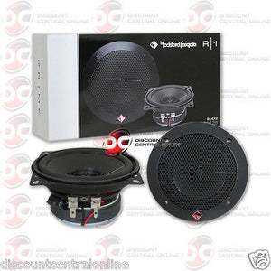 "Pair Rockford Fosgate R14X2 4/"" Inch 120 Watt 4-Ohm 2-Way Car Stereo Speakers"