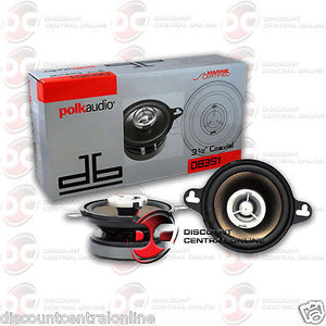 "Polk Audio DB351 3.5"" Car Audio Speakers"
