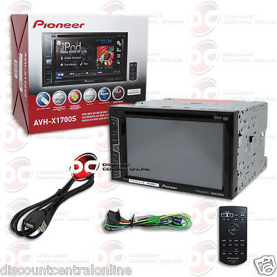 "BRAND NEW PIONEER AVH-X1700S 6.2"" TOUCHSCREEN DVD STEREO W/ APP MODE & MIRRORLINK READY"