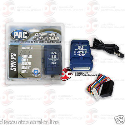 PAC SWI-PS CAR AUDIO STEERING WHEEL AUDIO CONTROL INTERFACE