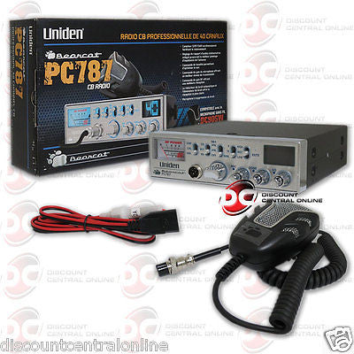 UNIDEN PC787 40 CHANNEL CB  RADIO WITH NOISE CANCELLING MICROPHONE