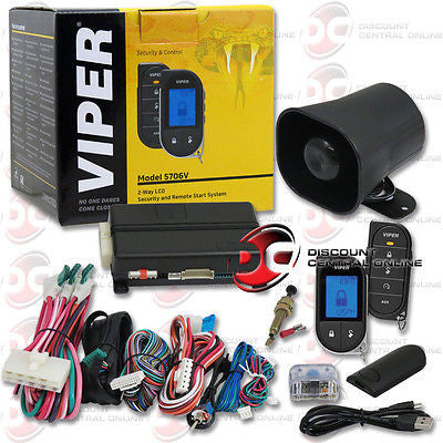VIPER 5706V 2-WAY KEYLESS ENTRY CAR SECURITY AND REMOTE START SYSTEM