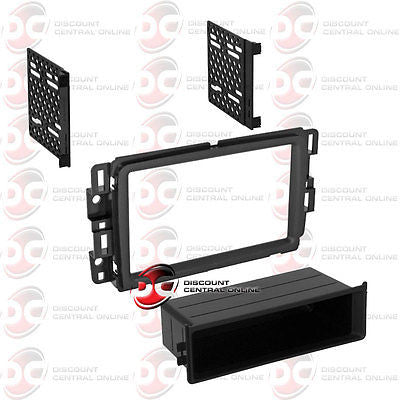 PAC BK-GMK403 CAR DOUBLEDIN/ DIN DASH KIT FOR SELECT 2013-2014 BUICK ENCLAVE CHEVY GMC ACADIA