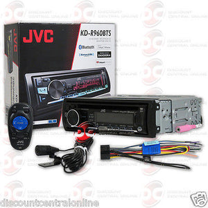JVC KD-R960BTS 1-DIN CAR AUDIO CD MP3 BLUETOOTH STEREO WITH AUX & USB INPUT