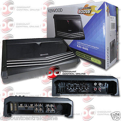 2015 BRAND NEW KENWOOD CAR AUDIO CLASS A/B 4-CHANNEL AMP AMPLIFIER 900W RMS