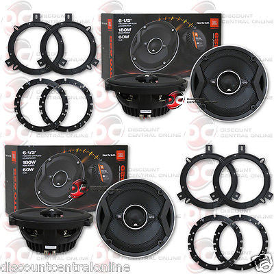 "4 x BRAND NEW JBL GTO629 6.5-INCH 6-1/2"" 2-WAY CAR AUDIO COAXIAL SPEAKERS"