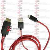 HDMI USB CABLE FOR SELECT ANDROID DEVICES WITH MHL INPUT STEREOS HEADUNIT 5 FEET