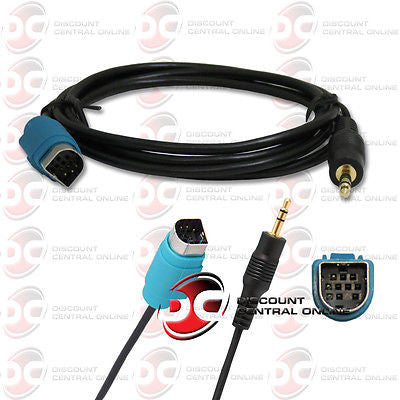 Alpine KCE-236B AUX Adapter Cable