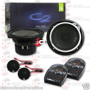 "JL AUDIO C2-525 5.25"" 2-WAY CAR AUDIO COMPONENT SPEAKER SYSTEM (PAIR) C2525"
