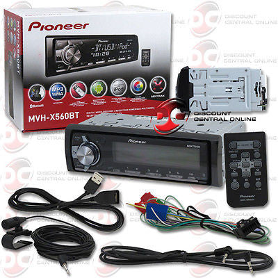 2014 PIONEER 1DIN CAR DIGITAL MEDIA RECEIVER WITH BLUETOOTH & PANDORA SUPPORT