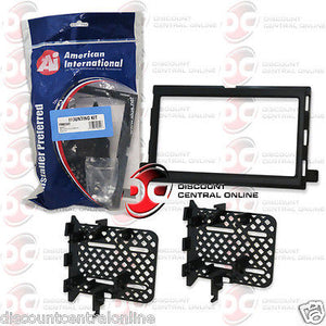 American International FM-K542 Car Stereo Single/Double Din Dash Kit (FMK542)