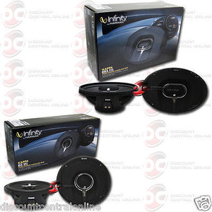 "INFINITY 62.11i 6.5"" 2-WAY CAR COAXIAL SPEAKERS + 693.11i 6x9"" 3-WAY CAR SPEAKERS"