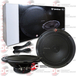 "BRAND NEW ROCKFORD FOSGATE 6.75-INCH 6-3/4"" 2-WAY CAR AUDIO COAX SPEAKERS PAIR"