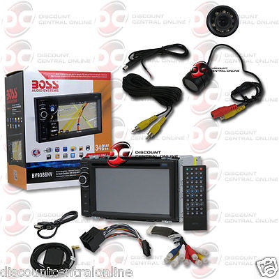 "BOSS BV9386NV 2DIN 6.2"" TOUCH LCD DVD CD GPS BLUETOOTH STEREO ""FREE"" REAR CAMERA"