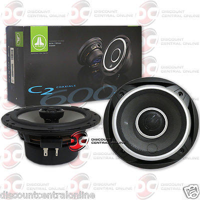 "JL AUDIO C2-600X 6"" 6-INCH 2-WAY CAR AUDIO SPEAKERS  (PAIR) C2600X C2"