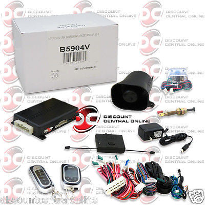 VIPER 5904V 2-WAY KEYLESS ENTRY CAR SECURITY AND REMOTE START SYSTEM