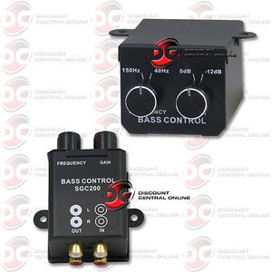 UNIVERSAL CAR AMPLIFIER REMOTE LEVEL BASS KNOB CONTROL VIA