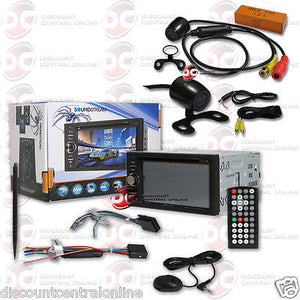 "SOUNDSTREAM VR-64H2B CAR 2DIN 6.2"" CD DVD BLUETOOTH STEREO FREE 170° REAR CAMERA"